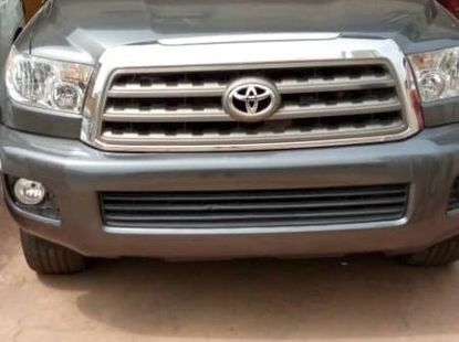 Foreign Used Toyota Sequoia 2013 Model Gray