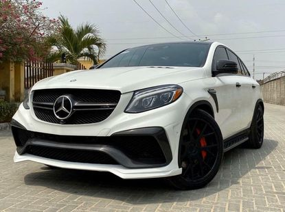 Foreign Used Mercedes-Benz GLE 2017 Model White
