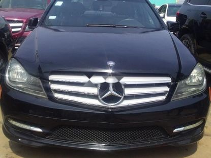 Nigeria Used Mercedes-Benz C350 2012 Model Blue