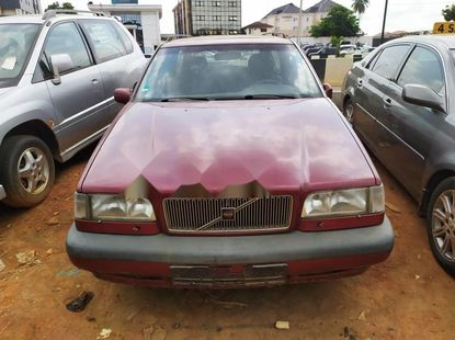 Foreign Used Volvo 850 1996 Model Red