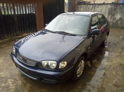 Foreign Used Toyota Corolla 2001 Model Blue