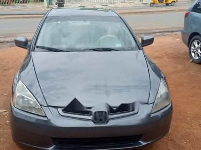 Nigeria Used Honda Accord 2003 Model Gray