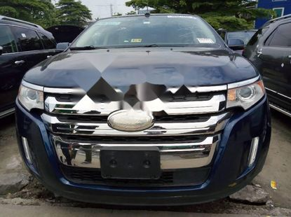 Foreign Used Ford Edge 2012 Model Blue