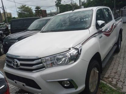 Foreign Used Toyota Hilux 2020 Model White