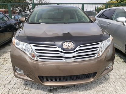 Foreign Used Toyota Venza 2009 Model Gold