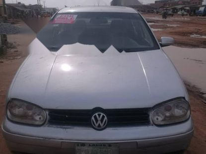 Nigeria Used Volkswagen Golf 2004 Model Silver