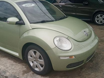 Foreign Used Volkswagen Beetle 2007 Model Gold
