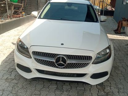 4 Months Registered Naija Used Mercedes-Benz C300 2015 Model For Sale