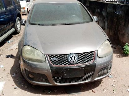 Foreign Used 2008 Grey Volkswagen Golf for sale in Lagos.
