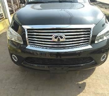 Foreign Used Infiniti QX50 2013 Model Black