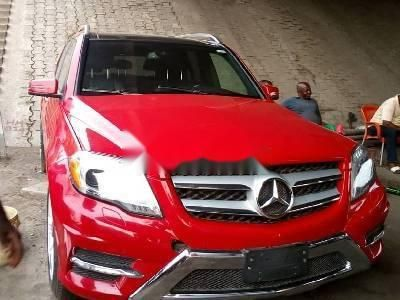 Foreign Used Mercedes-Benz GLK 2014 Model Red