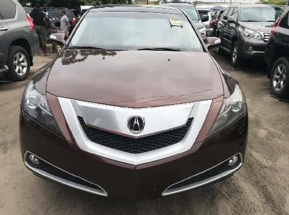 Foreign Used Acura ZDX 2011 Model Brown