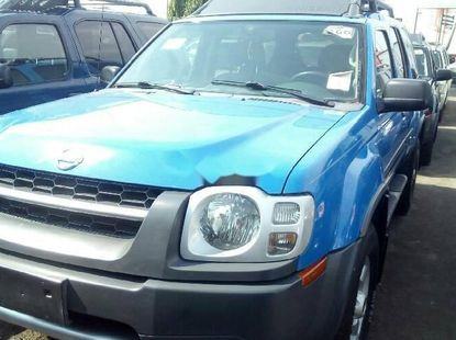 Foreign Used Nissan Xterra 2004 Model Blue