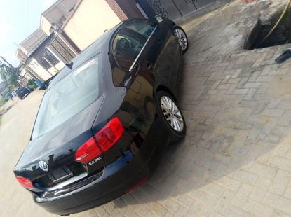 Foreign Used 2012 Black Volkswagen Jetta for sale in Lagos.