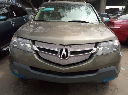 Foreign Used Acura MDX 2008 Model Gold