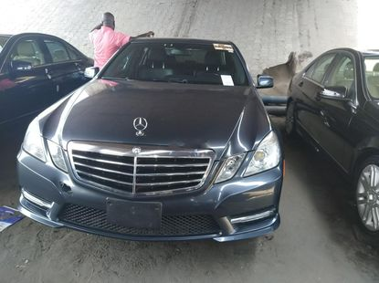 Foreign Used Mercedes-Benz E320 2013 Model Gray
