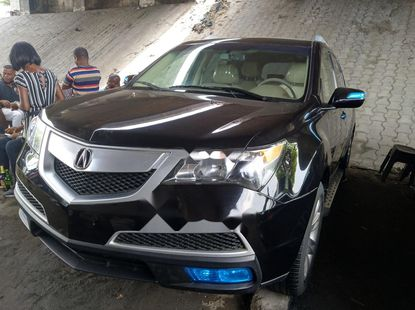 Foreign Used Acura MDX 2011 Model Black