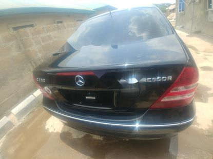 Foreign Used Mercedes-Benz C230 2005 Model Black