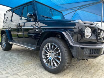 Foreign Used Mercedes-Benz G-Class 2019 Model Black
