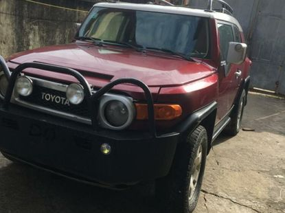 Nigeria Used Toyota FJ CRUISER 2009 Model Red