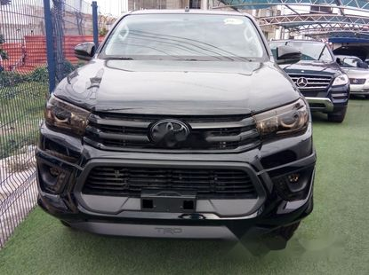 Foreign Used Toyota Hilux 2020 Model Black