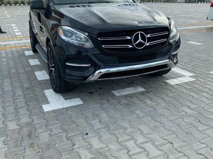 Foreign Used Mercedes-Benz 350 2016 Model Black