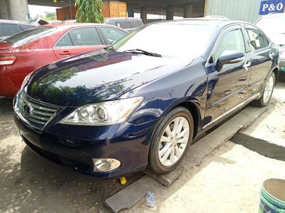 Foreign Used Lexus ES 2011 Model Blue