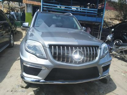 Foreign Used Mercedes-Benz GLK 2014 Model Silver