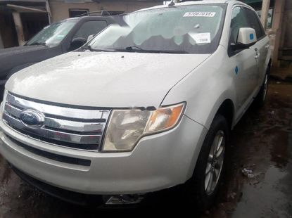 Foreign Used 2008 Beige Ford Edge for sale in Lagos.