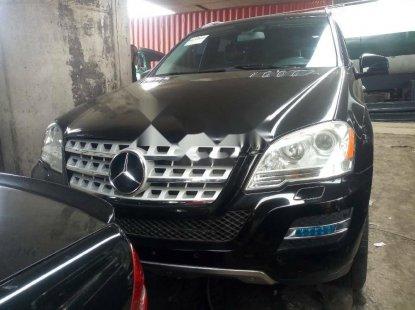Tokunbo Mercedes-Benz ML350 2011 Model Black
