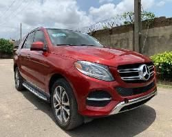Foreign Used 2016 Maroon Mercedes-Benz GLE 350 for sale in Lagos.