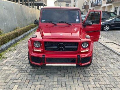 Tokunbo Mercedes-Benz AMG 2015 Model Red
