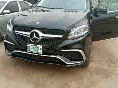 Nigeria Used Mercedes-Benz GLE 2013 Model Black