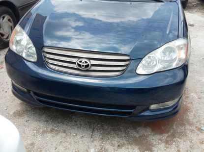 Foreign used Toyota Corolla sports 2004 model