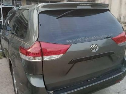Foreign Used Toyota Sienna 2014 Model Gray