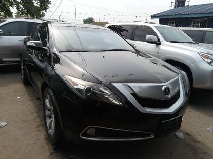Foreign Used 2012 Black Acura ZDX for sale in Lagos.