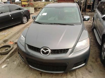 Foreign Used Mazda CX-7 2007 Model Gray