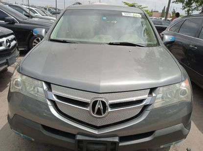 Foreign Used 2008 Grey Acura MDX for sale in Lagos.