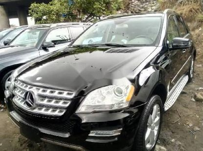 Foreign Used Mercedes-Benz ML 2011 Model Black