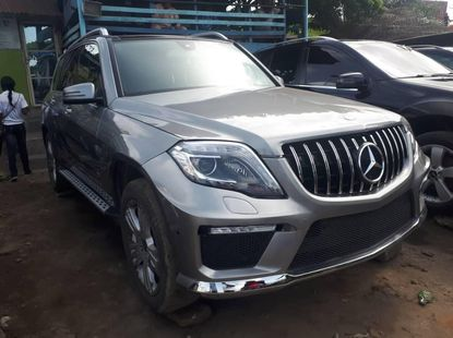 Foreign Used Mercedes-Benz GLK 2013 Model Silver