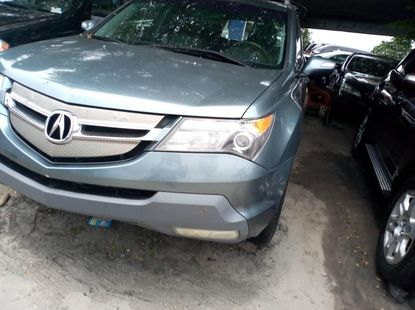 Foreign Used Acura MDX 2009 Model Blue