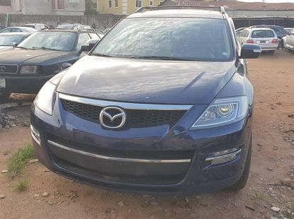 Foreign Used 2008 Dark Blue Mazda CX-9 for sale in Lagos.