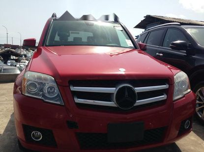 Foreign Used Mercedes-Benz GLK 2011 Model Red