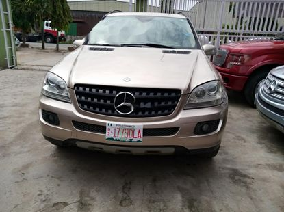 Foreign Used Mercedes Benz Ml 500 2007  for sale