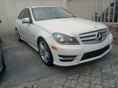 Mercedes-Benz C250 2012 Model Tokunbo