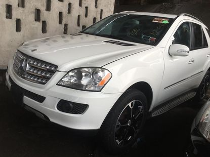 Tokunbo Mercedes-Benz M-Class 2008 Model White