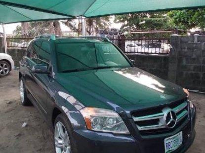 Nigeria Used Mercedes-Benz GLK 2012 Model Gray