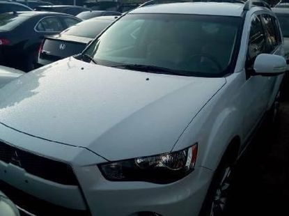 Foreign Used Mitsubishi Outlander 2010 Model White