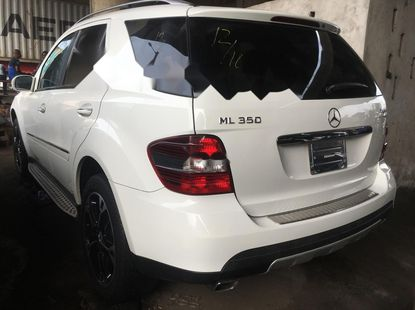 Foreign Used Mercedes-Benz M-Class 2008 Model White