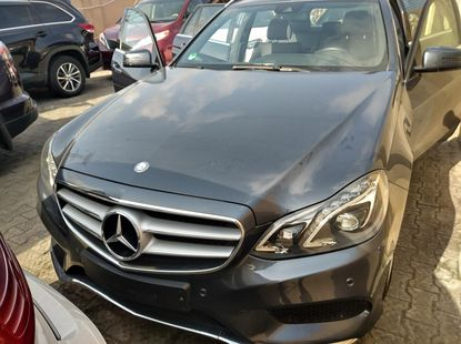 Foreign Used Mercedes-Benz E250 2016 Model